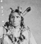 Chief Little Crow, Mdewakanton Dakota Sioux (public domain)