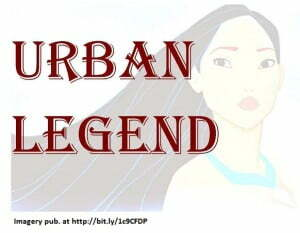 Cherokee Princess - Urban Legend