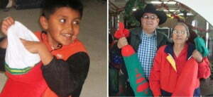 Holiday and Year-Round Giving - Child and Elder Photo