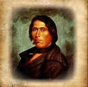 Tecumseh, public domain pub. at http://bit.ly/WarriorNation
