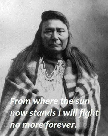 Native Chiefs Leaders Chief Joseph