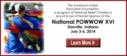 The Historic National Powwow - AIEF banner ad
