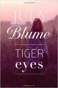 Book cover pub. at http://bit.ly/JudyBlume-TigerEyes