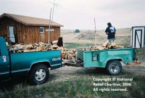 Staying Warm on the Rez - SNRF-Winter Fuel-Andre Mills 6