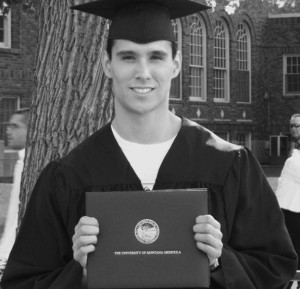 Aaron S. graduated college and pursued his Master's in physical therapy.