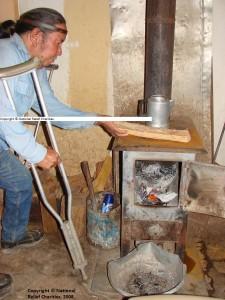 Free Housing - SWIRC-Bucket Full of Wood 3-Hoskie Red House